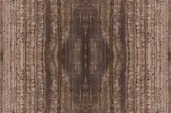 Деревянная предпосылка размера темного цвета текстуры большая Стоковое Изображение RF