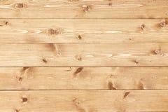 Деревянная предпосылка текстуры естественных доск сосны Стоковое Изображение