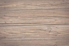 Деревянная предпосылка текстуры коричневого цвета планки Стоковое Изображение RF