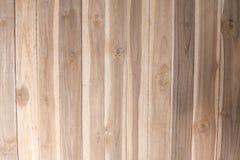 Деревянная предпосылка текстуры коричневого цвета планки Стоковые Фотографии RF