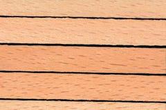 Деревянная предпосылка текстуры placemat, конец вверх Стоковое Изображение