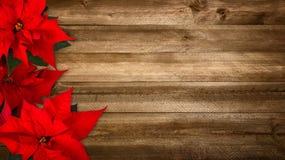 Деревянная предпосылка для рождества стоковые изображения