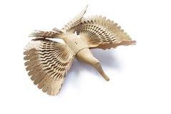 Деревянная птица Стоковые Фотографии RF
