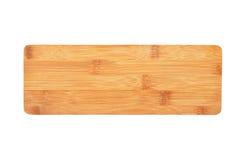 Деревянная планка на белизне стоковая фотография rf