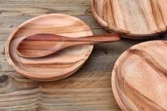 Деревянная плита Стоковое Изображение