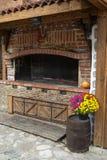 Деревянная плита outdoors Стоковая Фотография