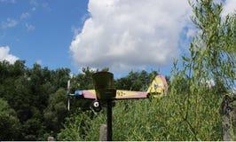 Деревянная плоскость Стоковая Фотография RF