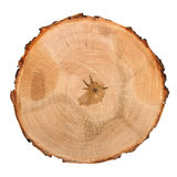 Деревянная разделочная доска на белизне Стоковое Изображение RF