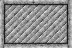 Деревянная рамка блока Стоковая Фотография