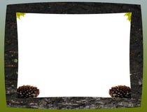Деревянная рамка от расшивы Стоковое Фото