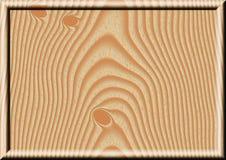 Деревянная рамка Стоковые Изображения