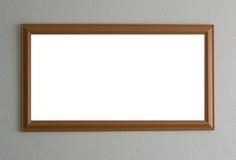 Деревянная рамка Стоковые Изображения RF