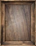 Деревянная рамка Стоковое Изображение RF