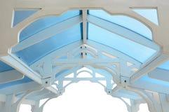 Деревянная рамка summerhouse Стоковая Фотография