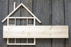 Деревянная реновация конструкции дома стоковое фото rf