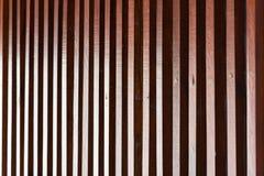 Деревянная решетина в влиянии дневного света Стоковое Изображение RF