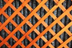 Деревянная решетка Стоковые Фотографии RF