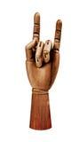 Деревянная рука Стоковое Изображение