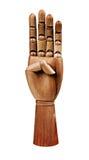 Деревянная рука Стоковая Фотография RF