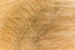 Деревянная светлая поверхностная предпосылка Стоковые Фотографии RF