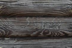 Деревянная серая предпосылка, текстура Стоковая Фотография RF