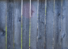 Деревянная серая старая покрашенная загородка Стоковая Фотография RF