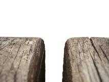 деревянная скамья на белой предпосылке стоковое изображение