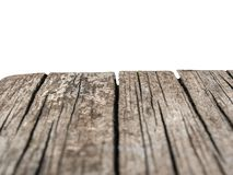 деревянная скамья на белой предпосылке стоковое изображение rf