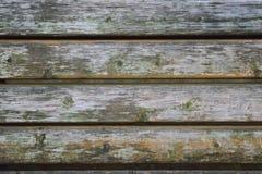 Деревянная скамья текстуры предпосылки старая Стоковое фото RF