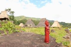 Деревянная скульптура, Ende Стоковая Фотография