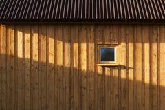 Деревянная стена амбара Стоковое Изображение RF