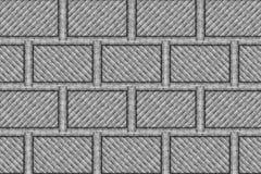 Деревянная стена блока Стоковые Фото