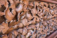 Деревянная стена ваяет Стоковое Изображение