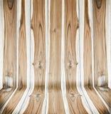 Деревянная стена панели Стоковые Изображения RF