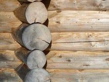 Деревянная стена Стоковое Фото