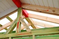 Деревянная структура здания Здание деревянной рамки Деревянная конструкция крыши фото для дома дом moscow города здания Стоковая Фотография