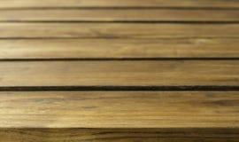 Деревянная таблица части Стоковые Изображения