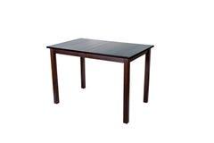 Деревянная таблица изолировала Стоковые Фото