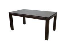 Деревянная таблица изолировала Стоковое Фото