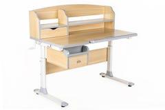Деревянная таблица школы Стоковое фото RF