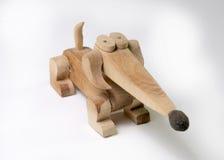 Деревянная такса figurine стоковые изображения