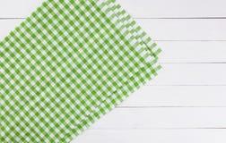 Деревянная текстура и зеленая текстура предпосылки ткани Стоковые Изображения RF