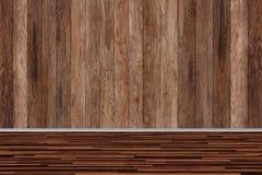 Деревянная текстура комнаты, текстурированный год сбора винограда стоковая фотография rf