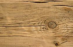 Деревянная текстура, коричневая старая деревянная предпосылка Стоковые Фотографии RF