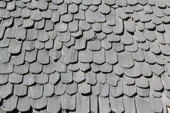 Деревянная текстура крыши Стоковые Фото