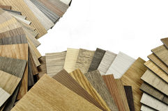 Деревянная текстура Настольный компьютер архитектора и оформителя дома внутреннего с Стоковое Изображение RF