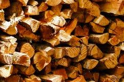 Деревянная текстура отрезанного ствола дерева стоковые изображения rf