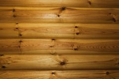 Деревянная текстура Предпосылка горизонтальных доск Стоковые Фотографии RF