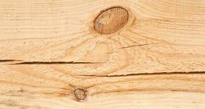 Деревянная текстура предпосылки и узел и большой отказ на планке Стоковые Фото