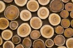 Деревянная текстура предпосылки в естественном свете Стоковая Фотография RF